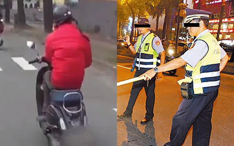 他天冷騎機車「打手O」?員警攔下後對他的神秘微笑...最後尷尬神反轉:警察壞壞討M!