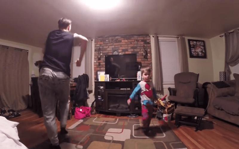 媽媽不在家就是要Battle阿!父子互尬舞技「舞力全開」!!