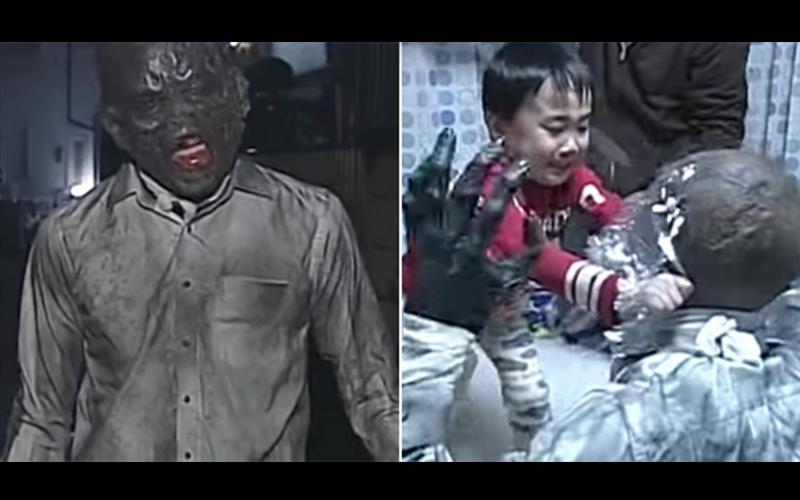 日本節目製造逼真「喪屍末日」考驗天真小朋友,他們的天然呆反應讓觀眾都笑瘋了!