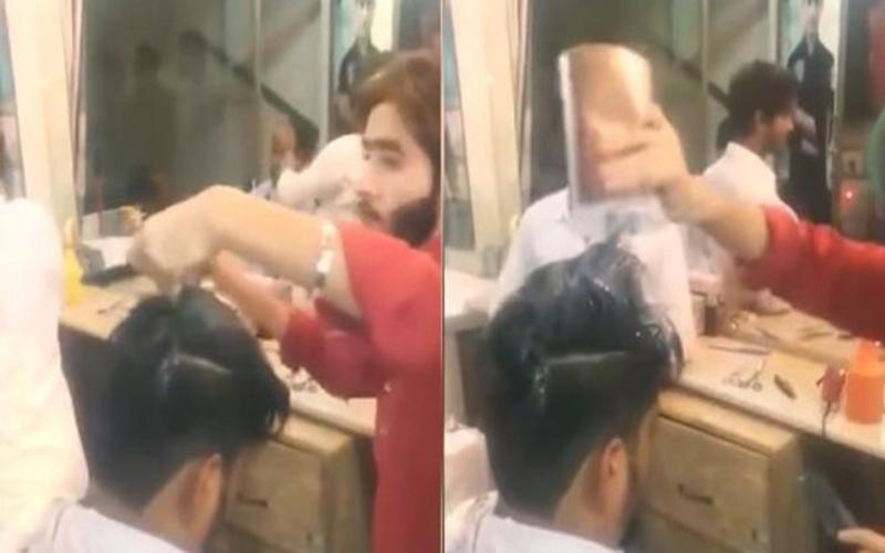 這段「燙髮」影片網路瘋傳!超猛巫術手法..當美髮師拿出打火機往頭上一點所有人都嚇傻了!