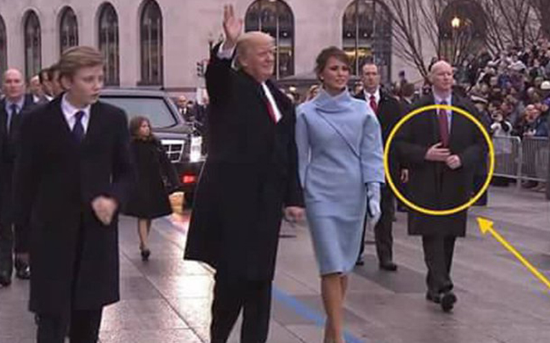 川普就職圍觀人潮好多!眼尖網友卻注意到「不尋常」的一幕...原來他們都很怕川普被暗殺(圖+影)
