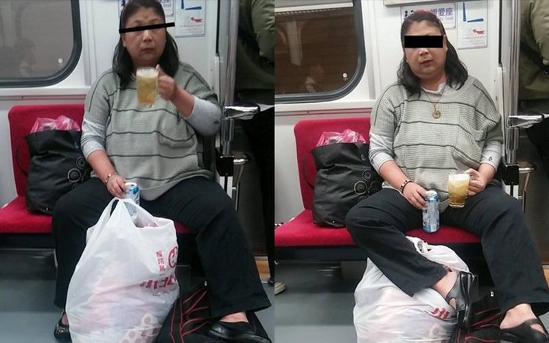 整個台鐵都是我的熱炒店! 超狂婦人「超專業」自備玻璃杯加冰塊,直接在車廂豪飲!:要來點下酒菜?!