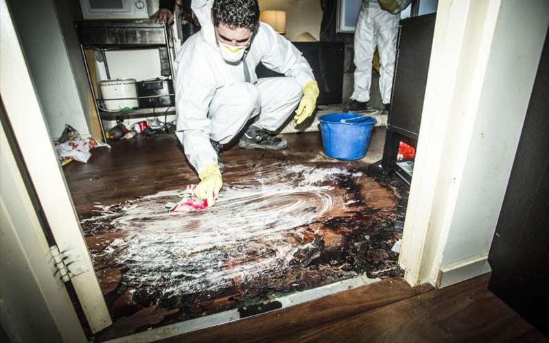 犯罪命案現場清潔師揭秘「工作曾遇過最恐怖的案發現場」,360度影片讓人看到寒毛直豎!(圖+影)