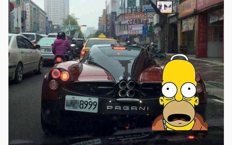 這不是看錯吧?台灣街頭直擊「台灣第一輛億元超跑」這簡直就是移動式豪宅啊!!
