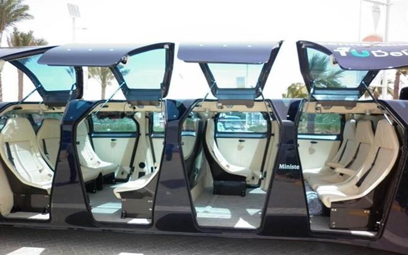 世界上最快的公車長這樣?!杜拜「超級巴士」最高時速可達250公里,造價約1120萬美元!