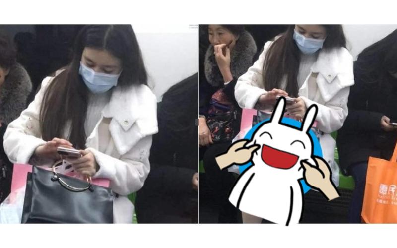 搭地鐵對面妹子實在讓人「目不轉睛」視線再往下移「雙腿間露出的東西」讓人嚇壞了!