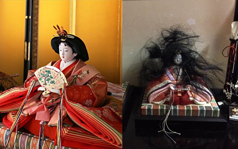怨氣好重?!日本網友回到家發現女兒節娃娃變成「鬼娃」嚇慘!:到底何方妖孽?