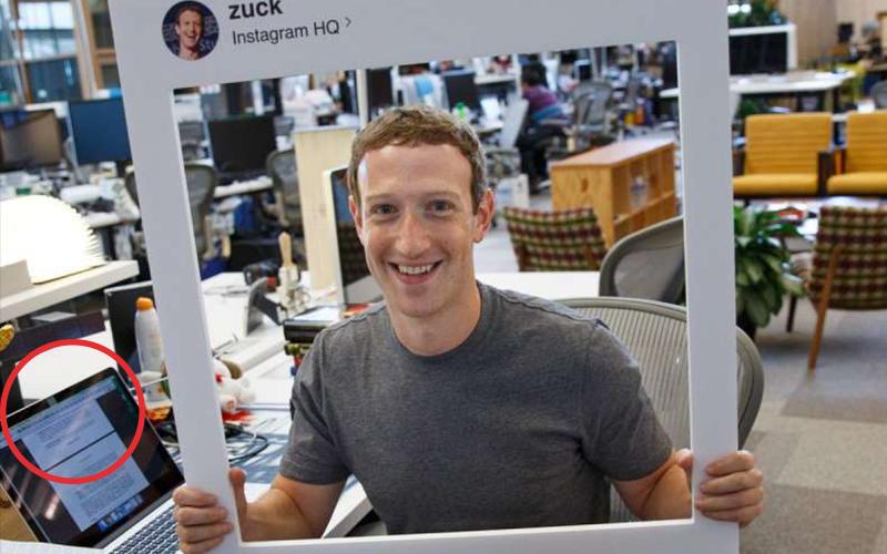 眼尖的網友發現馬克祖克柏「對他的筆電做了一件事」,不想出糗的話你也應該立刻學起來!