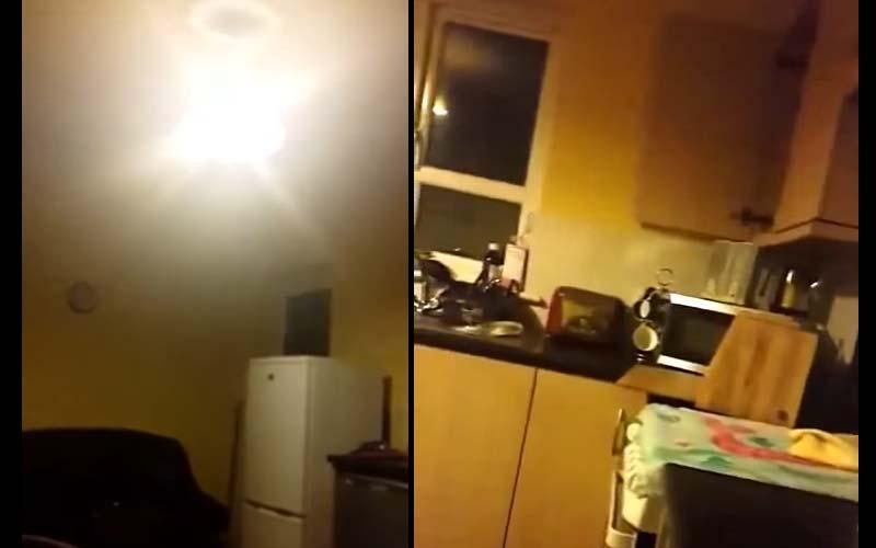 因為房子鬧鬼嚴重,被迫搬離自己的家,當警察接到報警趕去查看時,竟遭到惡靈攻擊!(影)