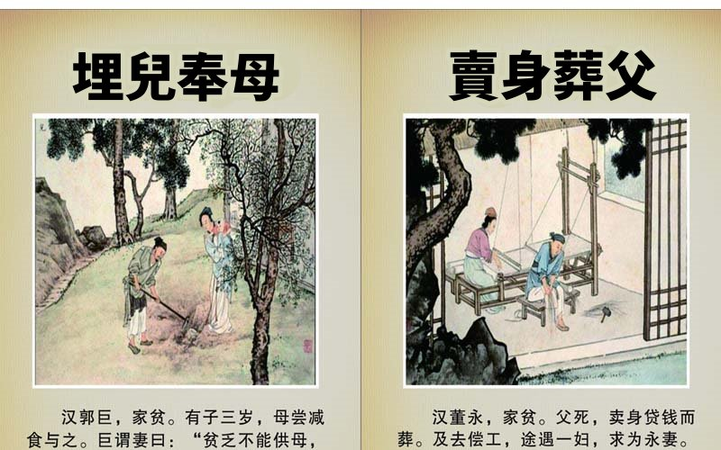 小時候學的「古代24孝故事中你覺得哪篇最扯?」網友推爆:24孝根本是一堆獵奇故事啊!