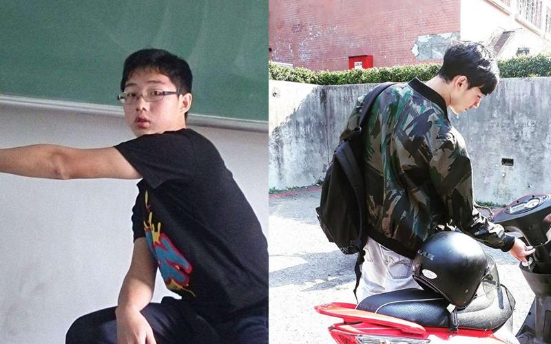 真人實事證明「台灣男生不帥是因為懶」!胖宅男積極減肥改造後女生都想跟他要電話!:好勵志!