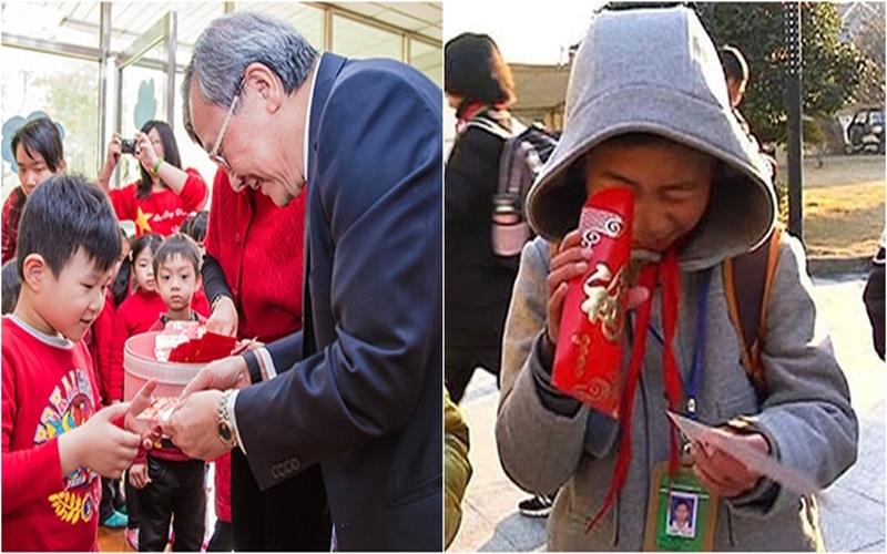開學第一天收到校長發的紅包,打開一看....裡面「內容」讓人翻白眼阿…