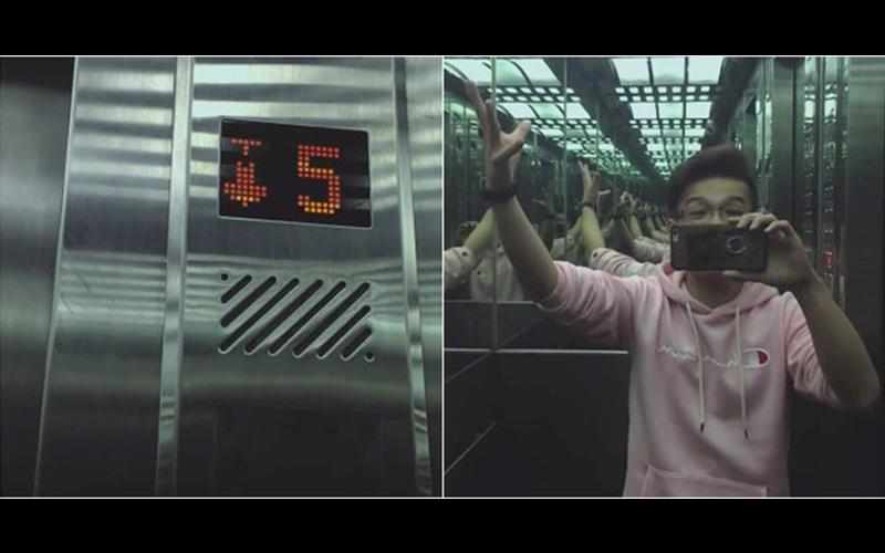 都市傳說「五樓的女人」網紅坐電梯實測,沒想到中途竟然遇到超毛狀況:網友留言比影片可怕!(圖+影)