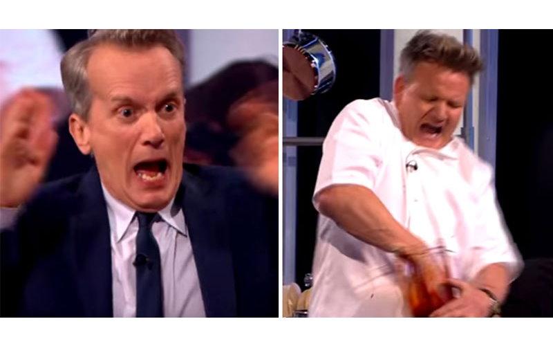 地獄廚神上節目攪拌機突然開啟瞬間手被攪爛,全場嚇呆!