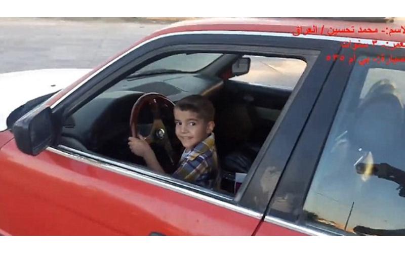 太狂!8歲男童因想吃大麥克,竟「開車載4歲妹妹」去買麥當勞...嚇壞路人!
