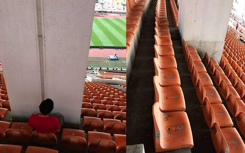 球迷超雖小看球賽竟買到「邊緣人特等席」!結果PS大神超好心的安慰圖讓大家都笑炸!