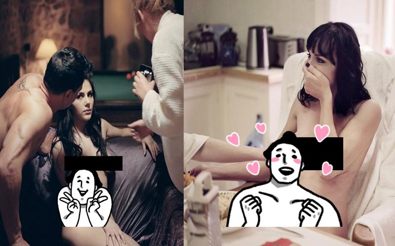 謎片女優們「鏡頭外」的模樣更誘人!直擊女優們謎片花絮:好羨慕攝影師啊!(20P)