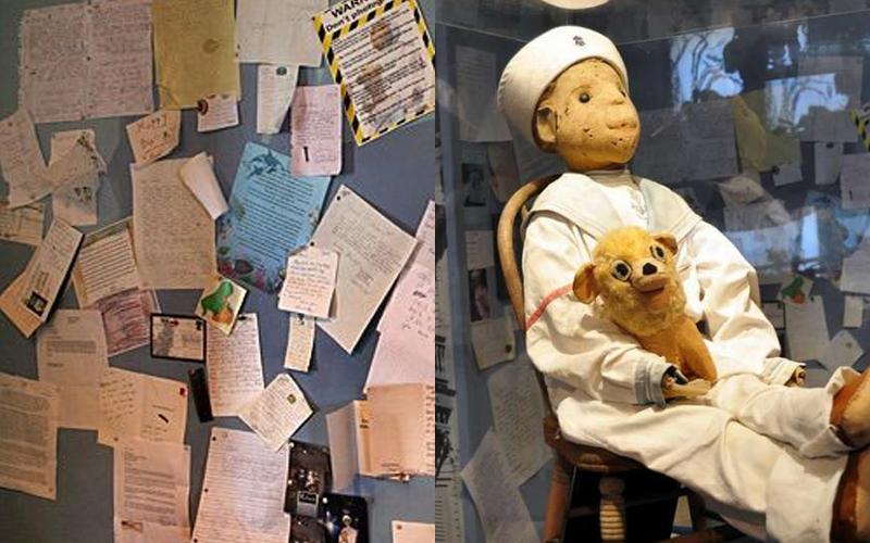 它就是「比安娜貝爾更可怕100倍」的羅伯特娃娃,若有人敢直視或對它出言不遜就會惹禍上身!