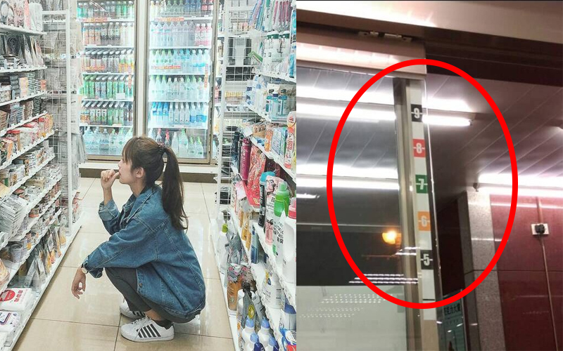他問「便利商店門上數字到底是幹嘛用的」?網友專業解答,絕對讓你跌破眼鏡!