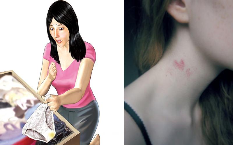 16歲少女「脖子被種3cm草莓」!媽媽氣炸怒聞內褲揭真相:「這不是妳的味道!」