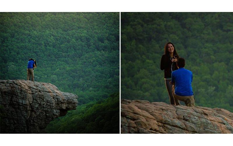 糗大了!攝影師「花6小時拍攝」委託人求婚畫面,沒想到下山後才發現「拍錯人...」