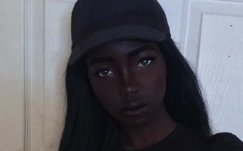 她被譽為世上最美黑人女神!純巧克力色芭比娃娃IG爆紅,精緻五官讓網友看到戀愛了!