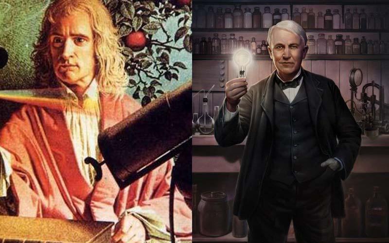 「牛頓跟愛迪生誰比較廢渣?」專業鄉民神分析愛迪生的八卦,網友:原來他那麼渣啊!