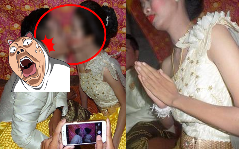 請到兩光化妝師,泰國新人結婚被化得像鬼...