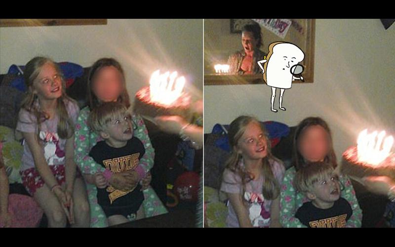 莫名多出一個人…?這家人開心慶生事後才發現拍下「超清晰鬼影」:嚇到毛骨悚然!