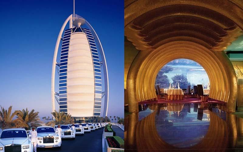 杜拜一晚需65萬的七星級酒店套房到底內部長甚麼樣子?感覺一輩子也住不了啊!
