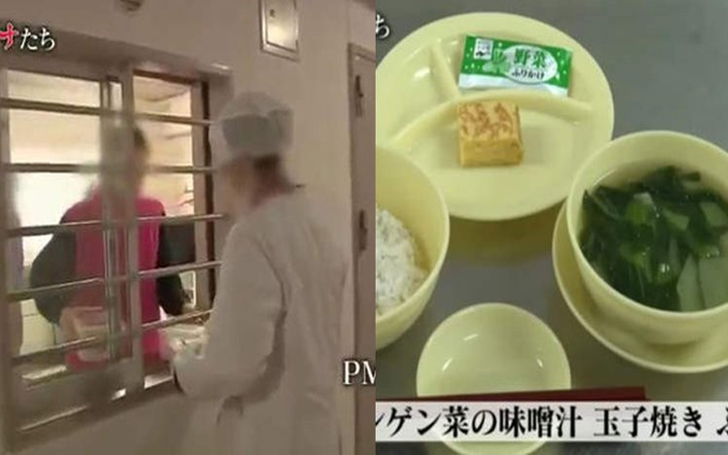 有沒有犯人在監獄過很好的八卦?當「日本女子監獄生活三餐」曝光!網友:真的吃比我好QQ