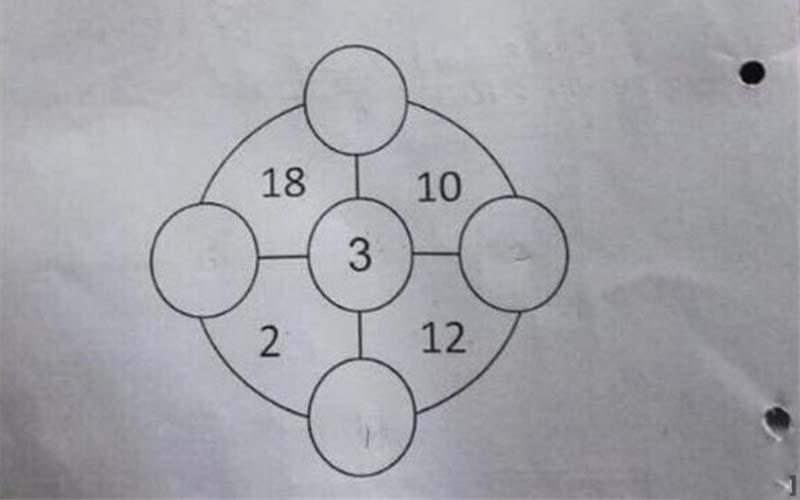 「圓圈內應該填什麼?」小學一年級數學題讓無數網友抓狂了....90%的人已投降!
