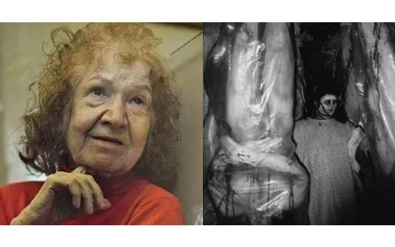 這位70歲的慈祥老奶奶,其實是位「瘋狂殺人魔」,甚至在房子裡搜出被她煮熟的「閨密」