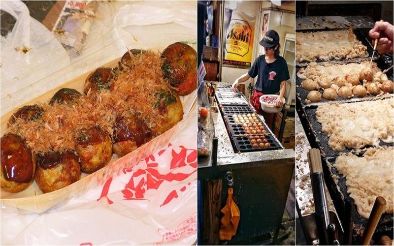 台灣章魚燒根本屌打日本?台日章魚燒掀論戰「日本的像加熱過的痰」:兩種根本不同食物!