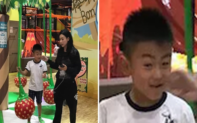 張柏芝帶小兒子出遊畫面曝光,但網友定睛一看...:長大後怎麼跟「那個人」長那麼像!
