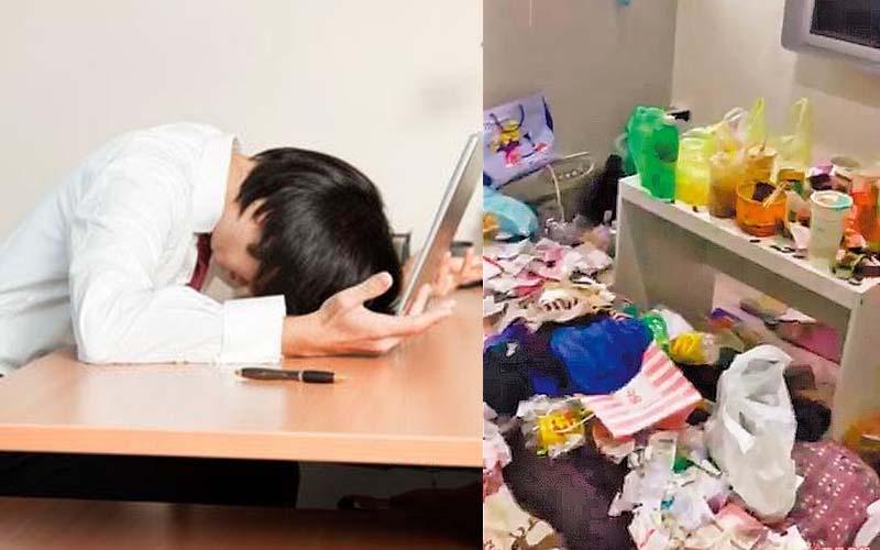 老公加班到爆肝,每個月給老婆26K,她給的是髒亂的家和泡麵…網友:別說了!好難過!