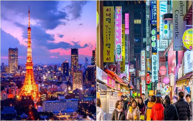 台灣人只瘋日本不愛韓國?他整理「日韓旅遊人數差五倍」數據:不愛去韓國原因竟是...