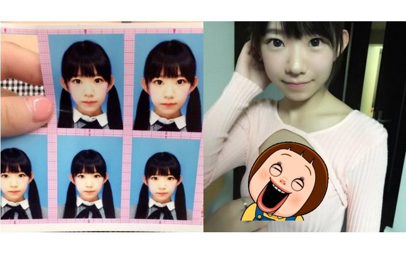 這蘿莉實在太可口!日本超萌「小學生證件照」看到本尊秒噴鼻血!網友:名符其實的童顏巨乳!