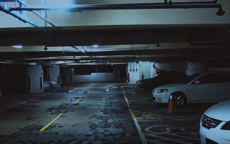 都市傳說「北榮恐怖停車場老伯伯」網紅實測叫完3聲「王伯伯你在嗎」…嚇到怒罵髒話!(影)