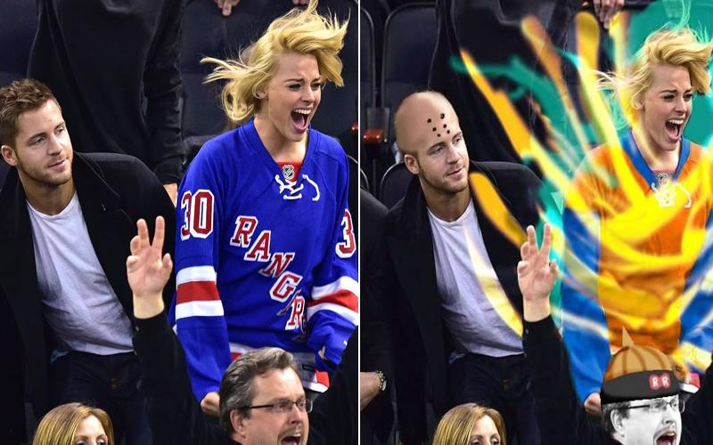 小丑女瑪格羅比看球賽的「激動表情」太有戲,網友毫不手軟的修圖大戰讓人都快笑出腹肌了!