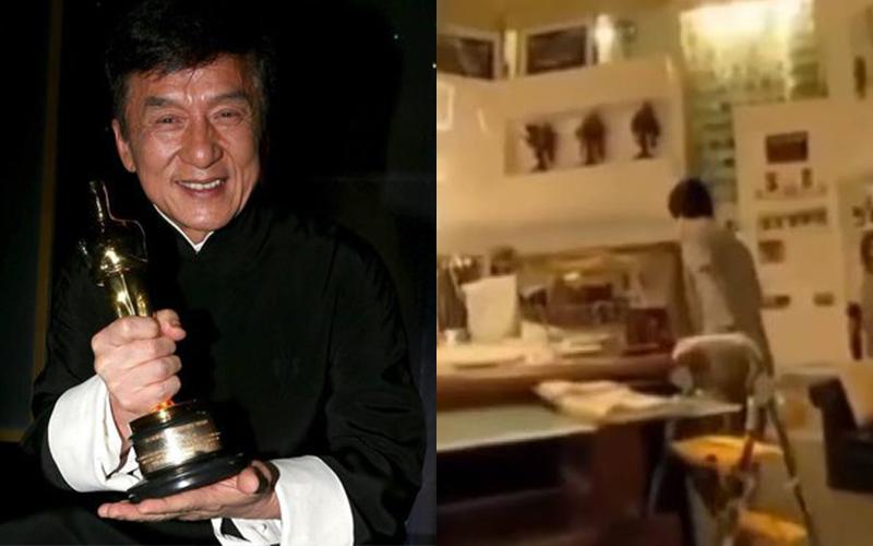 成龍在香港神秘住宅曝光!「超狂內部設計」引無數網友追看驚嘆:不愧是大哥!(影)