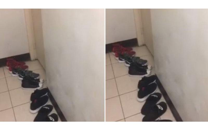 半夜隔壁套房傳來「妹子嬌喘聲」走到門口一看「6雙都男鞋欸…」網友:團戰?