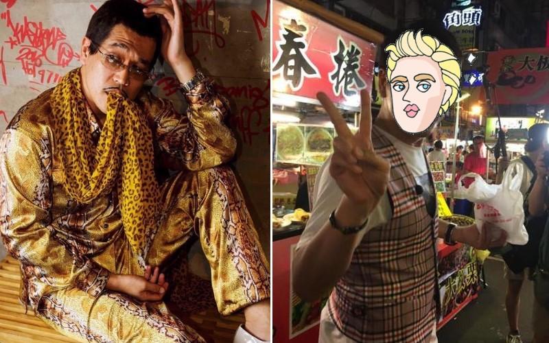 網友夜市捕獲野生PIKO太郎!「日系美男裝扮」帥到認不出來:原來髮型這麼重要!