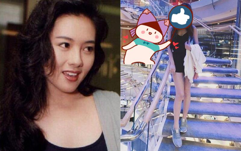 李麗珍20歲女兒近照曝光,超高顏值和性感身材完美繼承媽媽好基因!