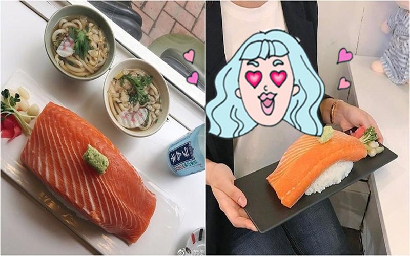 最狂握壽司!一口吃不下去你可以吃好幾口...但網友看到照片又歪樓了:女乃好大!