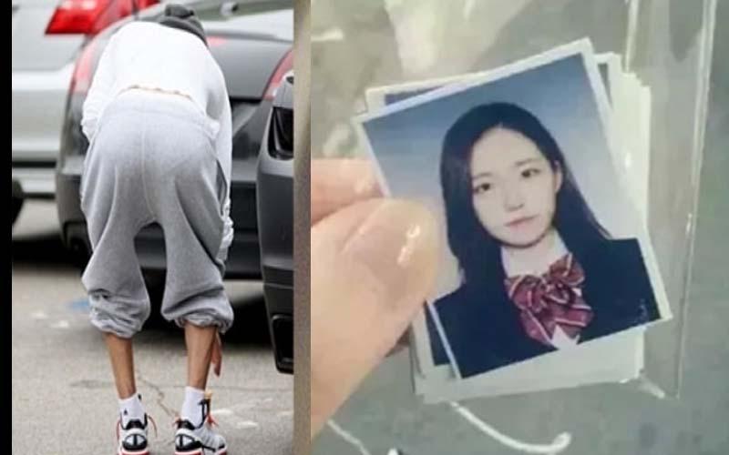 某肥宅在路上撿了一張正妹照片,結果翻到背後看,瞬間毛了...