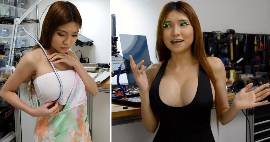 爆乳女工程師用3D列印「C字褲」比基尼....實測實穿性:乳浪太大太危險(圖+影)