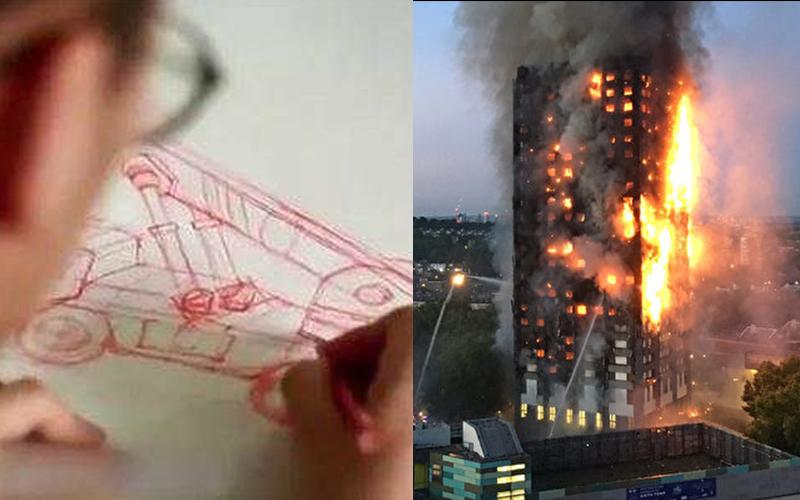 年輕男子靠「發明火災逃生滑梯」拯救了千萬生命,成為最年輕「最具發展潛力設計師」!(影)