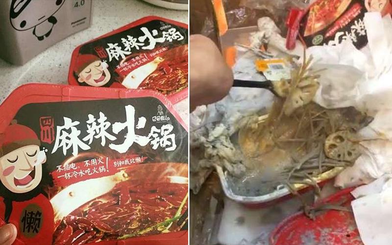 超蠢網友煮「懶人火鍋」直接剪開石灰袋加熱,最後整鍋噴發成「人間煉獄」嚇死人!(影)