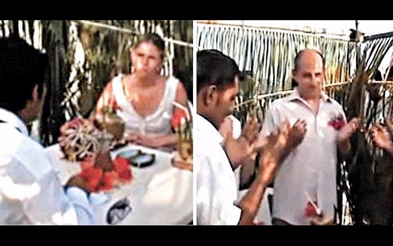 瑞士新婚夫婦在馬爾地夫砸3萬「請當地人用土語幫證婚」,回家才知道「證詞真正意思」超崩潰!(影)
